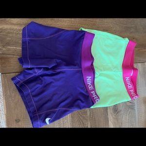 Nike Pro Shorts Youth